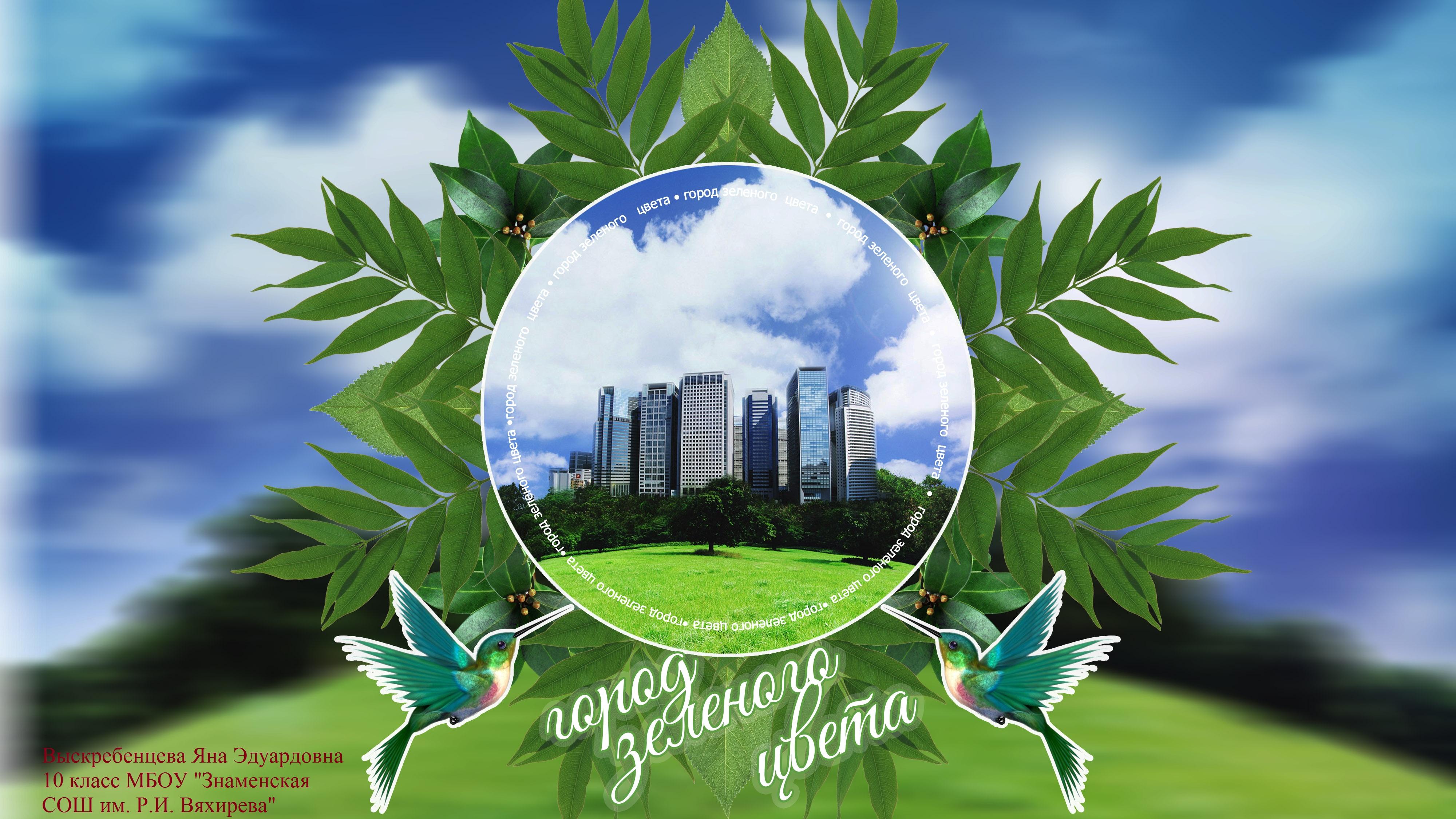 Город зелёного цвета год